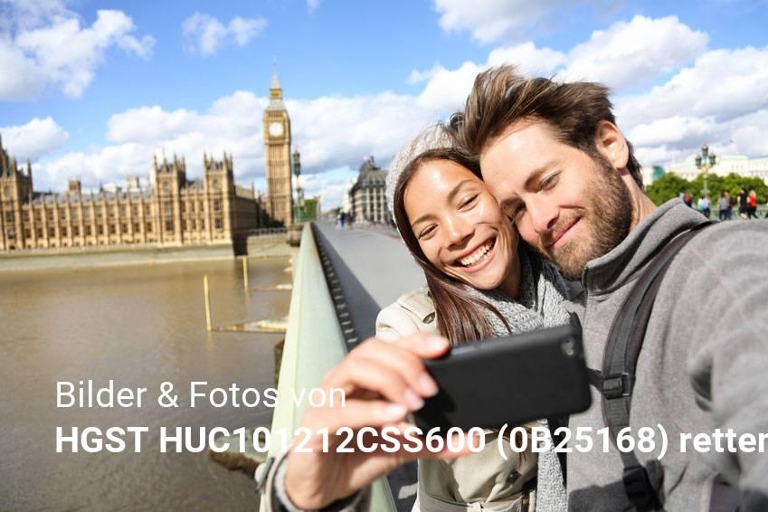 Datenrettung gelöschter Foto & Bilddateien von HGST HUC101212CSS600 (0B25168)