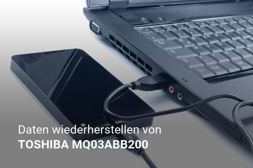 Gelöschte Dateien von TOSHIBA MQ03ABB200 günstig wiederherstellen