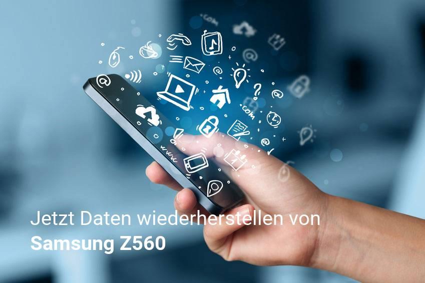 Gelöschte Samsung Z560 Dateien retten - Fotos, Musikdateien, Videos & Nachrichten